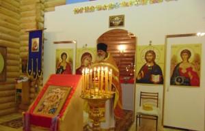 церковь св. бл. Ксении Петербургской д. Большая Кивара