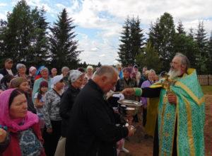 в деревне Большая Кивара состоялось открытие мемориального компклекса в честь знаменитых земляков
